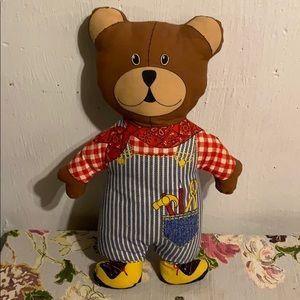 Vintage Teddy Pillow